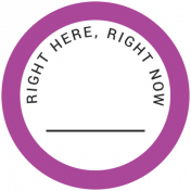 Back To Basics- Right Here, Right Now Label 16