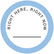 Back To Basics- Right Here, Right Now Label 19
