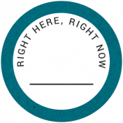 Back To Basics- Right Here, Right Now Label 20