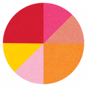Back To Basics Labels- Color Chart 18