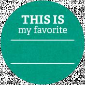 Back To Basics Labels- Favorite Label 14