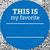 Back To Basics Labels- Favorite Label 18