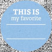 Back To Basics Labels- Favorite Label 19