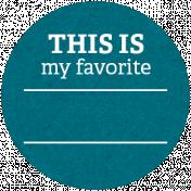 Back To Basics Labels- Favorite Label 20