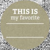 Back To Basics Labels- Favorite Label 26