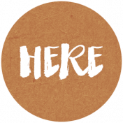 Back To Basics Labels- Here Label 9