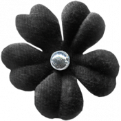 Bad Day Elements - Black Flower