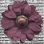 Bad Day Elements- Purple Flower