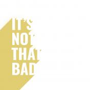 Bad Day- Journaling Card 18