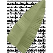 Easter Time- Green Leaf