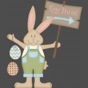 Easter Time- Egg Hunt Bunny
