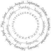 Circle Calendar 2