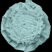 Shabby Art- Mint Flower