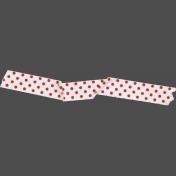 Red Dot Washi Tape