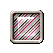 Diagonal line mini brad