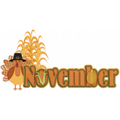 KMRD-The Holiday Season Wordart-november