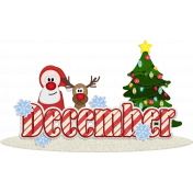 KMRD-The Holiday Season Wordart-december