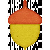 KMRD-Colorful Autumn-acorn