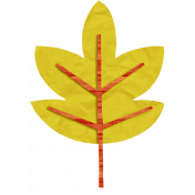 KMRD-Colorful Autumn-leaf-yellow