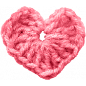 ColorAbstract_crochet heart