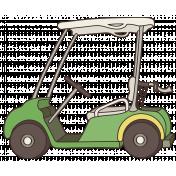 Golfing_golf cart