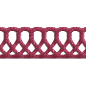 Christmas Day- Dark Pink Stitch