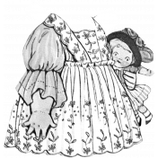 Paper Doll Clothes Template 004