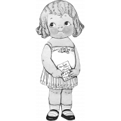 Paper Doll Template 002