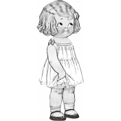 Paper Doll Template 004