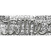 Toolbox Calendar 2 Doodle Tag- Metal Time