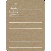 Toolbox Calendar 2- General Doodled Journal Card- Ship
