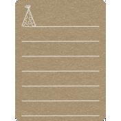 Toolbox Calendar 2- General Doodled Journal Card- Hat