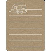 Toolbox Calendar 2- General Doodled Journal Card- Computer