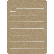 Toolbox Calendar 2- General Doodled Journal Card- Box