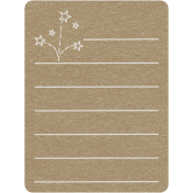 Toolbox Calendar 2- Monthly Doodled Journal Card- Fireworks