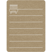 Toolbox Calendar 2- Monthly Doodled Journal Card- Menorah