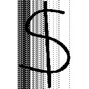 Dollar Doodle Template 001