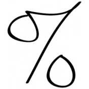 Percent Doodle Template 001