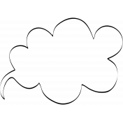 Speech Bubble Doodle Template 007