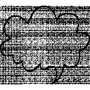 Speech Bubble Doodle Template 010