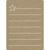 Toolbox Calendar 2- Monthly Doodled Journal Card- Star 2