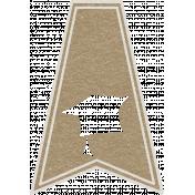 Toolbox Calendar- Graduation Doodle Flag