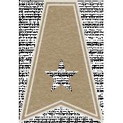 Toolbox Calendar- Star Doodle Flag