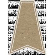 Toolbox Calendar- Small Flake Doodle Flag