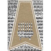 Toolbox Calendar- Menorah Doodle Flag