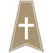 Toolbox Calendar- Cross Doodle Flag