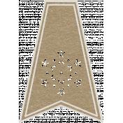 Toolbox Calendar- Ornate Flake Doodle Flag