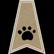Toolbox Calendar- Paw Doodle Flag