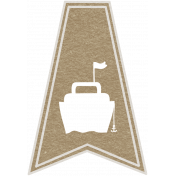 Toolbox Calendar- Ship Doodle Flag