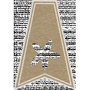 Toolbox Calendar- Starfish Doodle Flag